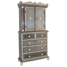 1stdibs - Anglo-Indian Ivory and Sadeli Micro-Mosaic Cabinet explore items from 1,700  global dealers at 1stdibs.com
