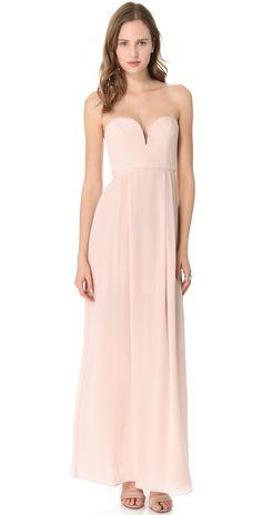Zimmermann Strapless Maxi Dress | SHOPBOP SAVE 25% use Code: BIGEVENT15