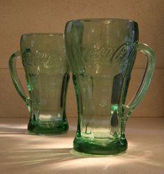 Pair of COCA COLA mugs by BarrysAttic on Etsy25.00