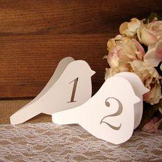 Numéro de table oiseau  Table numéros numéro par DazzlingDaisiesCo