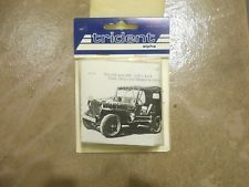 Rare Willys MB Jeep Trident Alpha Die Cast GPW Military 1/87 Made in Austria
