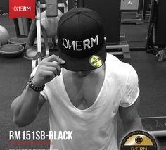 Snapback Hat For Fitness Workout Exercise GYM Sports Short Flat Visor Adjustable #ONERM #BaseballCap