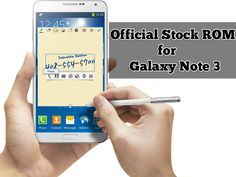 Official Stock ROM for Samsung Galaxy Note 3 [Sprint, Verizon, T-Mobile, Others]