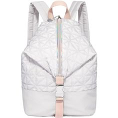 Fiorelli Sport Strike A Pose Backpack (39 CHF) ❤ liked on Polyvore featuring bags, backpacks, luna rock, fiorelli backpack, iridescent backpack, sports backpacks, white drawstring backpack and drawstring sports bag