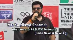 Kartikeya Sharma is Founder and Promoter of iTV Network and one of the youngest and most dynamic media entrepreneurs in India talking about  CPLt20 on Sunday 28th June 2015 match b/w INDIA NEWS vs  RED FM  http://bit.ly/1SOILNG | http://bit.ly/1zkvtBL | http://bit.ly/1nLIak5