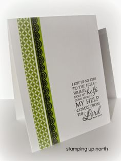 stamping up north..washi tape cards