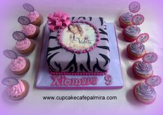 Violetta Cake and Cupcakes