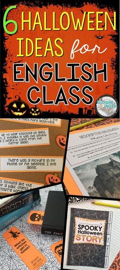 [Blog Post] Halloween is a fun time for all involved, including teachers! If you're stumped for ideas on how you can bring the Halloween spirit into your English Language Arts class, here are a few ideas to help you get started!