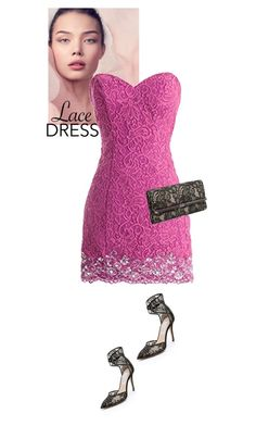 """Untitled #488"" by veronica7777 ❤ liked on Polyvore featuring Monique Lhuillier and Diane Von Furstenberg"