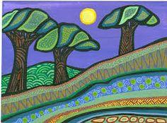 Image result for Bronwyn Bancroft Rainbow Serpent, Aboriginal Artists, Art Projects, Project Ideas, Australian Art, Indigenous Art, Painting Inspiration, Art Lessons, Amazing Art