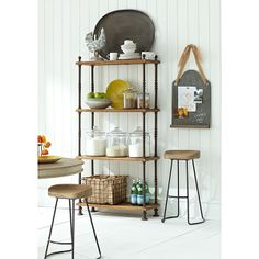 Wisteria - Furniture - Shelves -  French Shopkeeper�s Shelves - $399.00