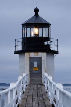 "Marshall Point Maine ""I willI stand like the mighty lighthouse, The waves crashing at my feet. My light of love cascading, guiding you home to me. Maine Lighthouses, Beacon Of Light, Am Meer, Coastal Living, Architecture, Belle Photo, New England, Nautical, Places To Go"