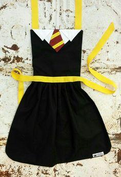 Hogwarts House Inspired Apron