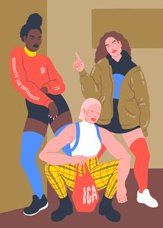 """Sara Andreasson is an illustrator and designer based in Gothenburg, Sweden. She has a background in engineering and furniture design but nowadays div..."