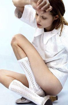 Magdalena Frackowiak @ DNA Models on the cover of Dansk Magazine