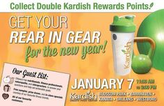 Have you decided on a New Year's Resolution but don't know where to start? Dr Hawkes and Dr Deschenes will be taking questions about Spine and Nervous System Health at Kardish Kanata and Kardish Westboro on January 7 from 11am-3pm. Kardish is calling this their Get Your Rear In Gear for the New Year event!   Kardish will be providing free samples prize draws and in-store specials at their Blossom Park Barrhaven Kanata Orleans and Westboro locations. Shoppers can earn double Kardish Rewards…