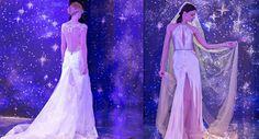 Alessandro Angelozzi Couture 2016 Nuova collezione sposa The Amazing Stars, Tendenze sposa 2016, Nuova collezione sposa 2016, Bridal collection 2016, Abiti da sposa scivolati 2016