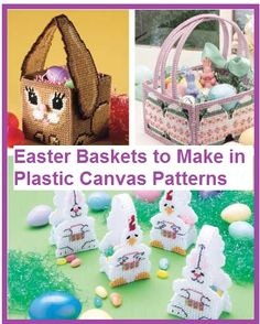 Easter Basket Patterns to Make Using Plastic Canvas