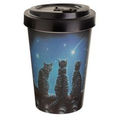 Bamboo Composite Wish Upon a Star Lisa Parker Cat Travel Mug If you are looking for a range that is not only great for the planet but also looks super cool, then check out our eco friendly range of picnic and kitchen accessories. This range is dishwasher safe but cannot be used in the microwave. Do not use with food or drink over 70c as there is a danger of scalding. Dimensions: Height 13.5cm Width 9cm Depth 9cm (approx 5.5 x 3.5 x 3.5 inches) Lisa Parker, Take Away Cup, Alternative Artists, Reusable Cup, Travel Cup, Best Masks, Cool Artwork, Amazing Artwork, Cat Design