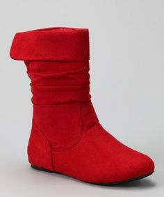 Take a look at this Red Love 99 Boot by Diamond Footwear on #zulily today!