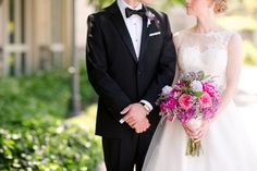 Formal Wedding with Pink, Purple and lavender accents