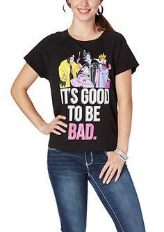 image of Bad Disney Villianess High Low Tee