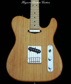 """Haywire Custom Guitars Inc. Custom Ash Tele with True Oil Finish, Lollar """"Vintage T"""" in the Neck and a """"Special T"""" in the bridge, Gibson Pickup Selector + Stainless Steel frets and Schaller DaVinci Tuning Keys. http://www.haywirecustomguitars.com"""