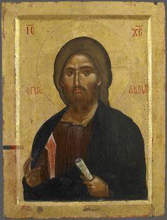 Христос Пантократор; XIII в.; Византия. - православные мастерские «Русская Икона»
