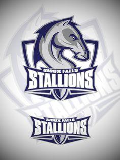 Sioux Falls Stallions on Behance