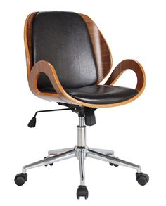 Update your workspace with the warm hue and stylish functionality of the Riko Desk Chair. Its 360-degree swivel, high density foam seat, and adjustable height make it a wonderful option for modern offices as well as your own home study!  http://www.furnishedup.com/office/rika-desk-chair-brown.html