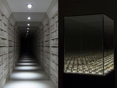 Guillaume Lachapelle's Mirrored Dioramas Create the Illusion of Infinite Space