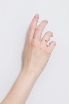Sphere ring - BEATRIZ PALACIOS jewelry
