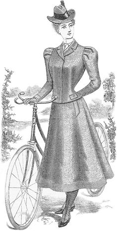 M-1788-x350-Typical Bicycling Costume of 1898