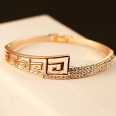 Cheap bangles for small wrists, Buy Quality bangle gold directly from China bangle bracelet Suppliers: Fashion Women Pearl Cuff Bracelet Factory Wholesale for womenUSD Big Brand Europe and the United States f Gold Rings Jewelry, Jewelry Design Earrings, Gold Earrings Designs, Jewellery, Gold Ring Designs, Gold Bangles Design, Gold Bangles For Women, Stylish Jewelry, Fashion Jewelry