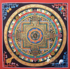 Mandala - Thangka Paintings Tamang Atisan Nepal