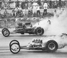 Tommy Ivo's Twin Buick Dragster running against  . . . - Vintage Drag Racing - Dragster