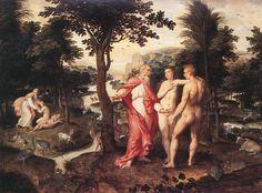 Jacob de Backer, The Garden of Eden