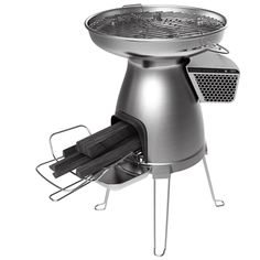 BioLite BaseCamp Stove...Camp stove with a phone charger!