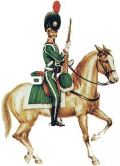 Regno di Spagna - Cazadores de Olivenza 1808 Tropa