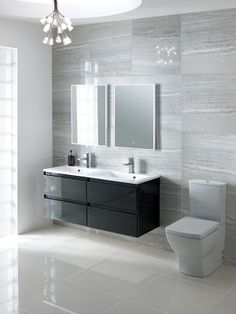 Discover a beautiful range of modern & traditional bathroom furniture from one of the UK's leading bathroom retail supplier, over 20 years experience. Best Bathroom Designs, Bathroom Design Luxury, Modern Bathroom Design, Traditional Bathroom Furniture, Grey Bathroom Furniture, Bathroom Wall Panels, Bathroom Paneling, Guest Bathroom Remodel, Bathroom Renovations