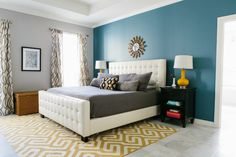 Design Improvised: Master Bedroom Reveal with Minted!