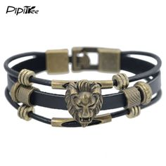 From the cats, with love; this new Handmade Vintage ... for you.  Would you share it? http://catrescue.myshopify.com/products/handmade-vintage-brass-lion-head-charm-leather-bracelet-bangles?utm_campaign=social_autopilot&utm_source=pin&utm_medium=pin