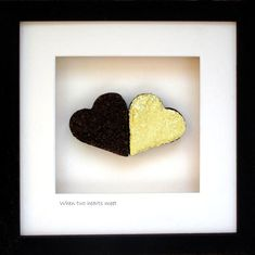 Cool Gifts, Unique Gifts, Engagement Presents, Two Hearts, Irish, Meet, Cool Stuff, Frame, How To Make