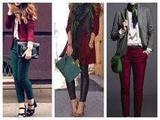 Цвет марсала в одежде: фото, советы