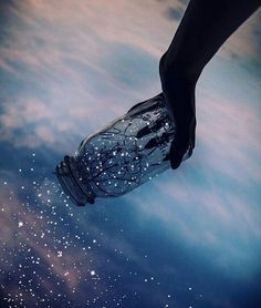 Imagem de light, sky, and stars