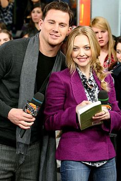 Amanda Seyfried and Channing Tatum