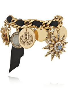 J.CREW Gold-tone charm bracelet | net-a-porter