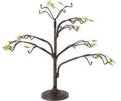 Dark Brown Ornament stand - twig tree, H x W x D Tree Jewelry Holder, Twig Tree, Doll Stands, Dark Brown, Display, Ornaments, Floor Space, Billboard, Christmas Decorations