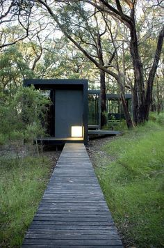 Love this intimate home nestled amongst the bush