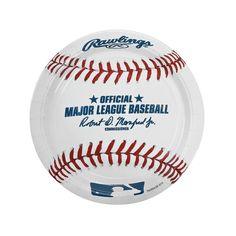 Major+League+Baseball™+Dinner+Paper+Plates+-+OrientalTrading.com